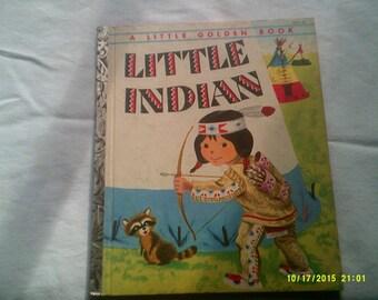 Little Indian Golden Book