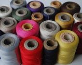 20 Spools bobbins Vintage Thread Industrial Spool