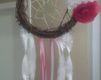 Think Pink small dreamcatcher