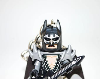 128GB Glam Metal Batman USB Flash Drive with Key Chain