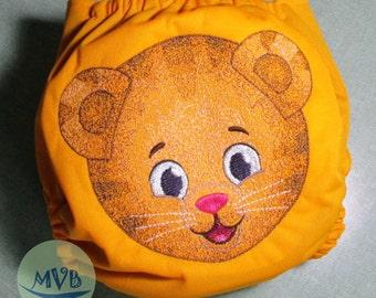 "Cloth Diaper Applique Embroidery ""Ugga-Mugga"""