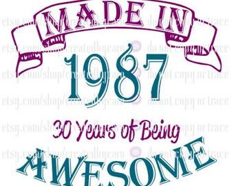 Made In 1987 digital file