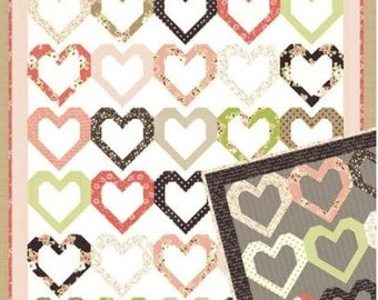 Lella Boutique Open Heart Quilt Pattern