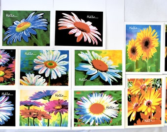 Bright Blooms to Make You Smile - Notecards