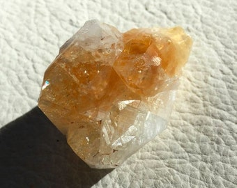 ON SALE 10 percent off Citrine Crystal point, quartz crystal, mineral, gemstone, raw natural rock, metaphysical, new age, spirituality