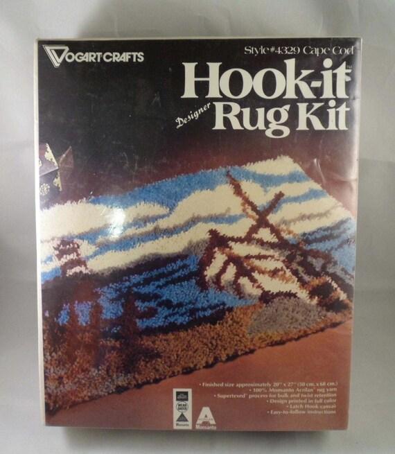 Hook-It Rug Kit Vogart Brand Cape Cod Style 4329 Latch Hook