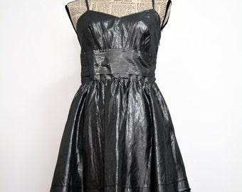 CLEARANCE Christmas Dress , New Year Dress , Vintage Shinny Party Dress , Urban shinny silky Dress , Boho Dress