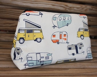 RV Makeup Bag - Cosmetic Bag, Makeup Case, Travel Bag, Makeup, Bridesmaid Gift