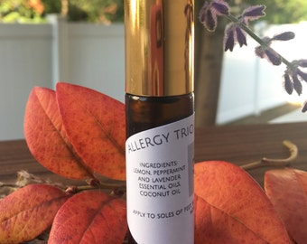 Allergy Trio- 100% Natural Essential Oil roll on