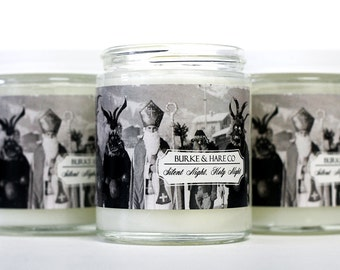 Christmas Candle  - Krampus - Scented Candle