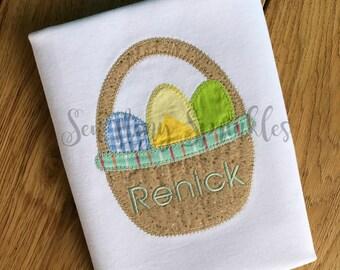 Easter shirt, easter basket shirt, boys Easter shirt, girsl Easter shirt, Easter outfit, Easter egg shirt, Spring shirt, Happy Easter shirt,