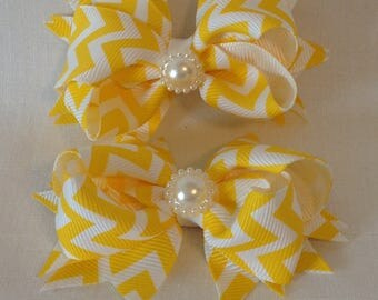 Boutique Hairbows/Baby Hairbows/Girls Hairbows/Stacked Hairbows
