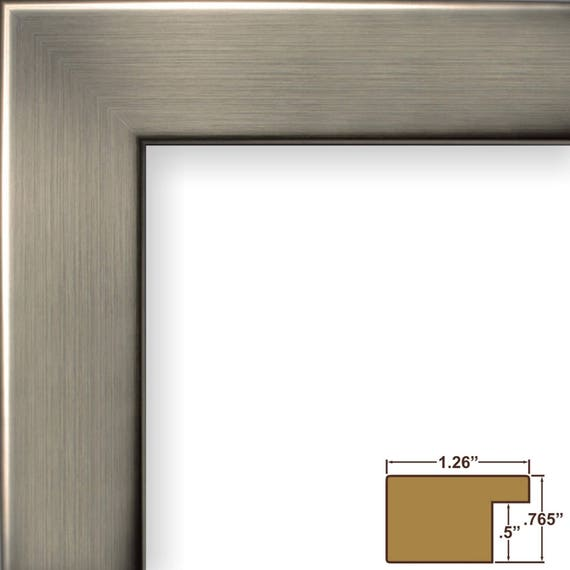 Craig Frames 14x18 Inch Modern Silver Picture Frame