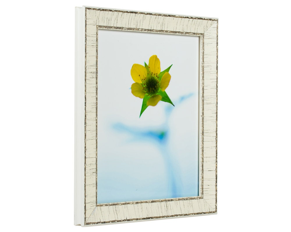 Craig Frames 24x30 Inch Weathered Off White Picture Frame