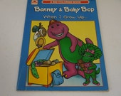 Barney & Baby Bop When I Grow Up... Coloring Book 1993