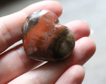 Red Creek Jasper Heart #81195