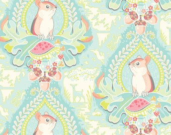 Stacy Peterson - Haven - Morning Glen Blue - Blend Fabrics (125.101.01.1) - 1 Yard