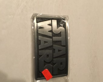 star wars pewter belt buckle