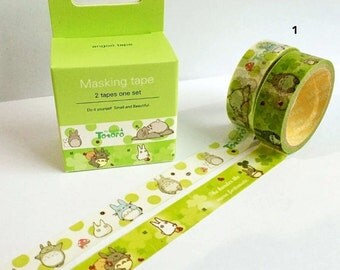 Totoro Washi Tape Masking Tape Planner Stickers Scrapbooking Stickers