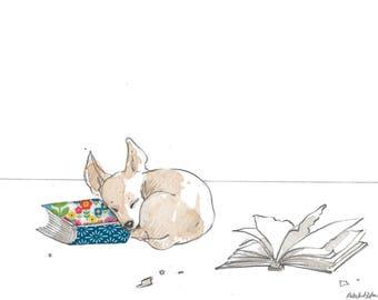 Chihuahua Puppy Art Print