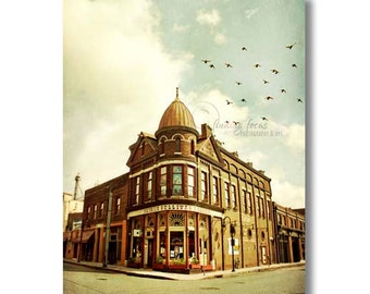 Downtown Knoxville Photo, Patrick Sullivan's Saloon Architecture Photography, Tennessee, Historic Old City Building, Urban Landscape Picture