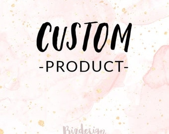 INSTANT DOWNLOAD - Custom Product HJ