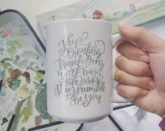 Creative Process Watercolor Mug