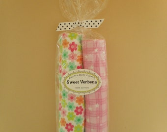 Quilted Burp Cloths