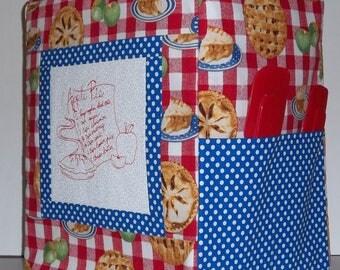 Kitchenaid Mixer Cover - Apple Recipe - Apple Pie - Stand Mixer Cover
