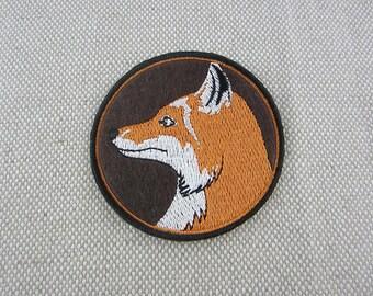 Iron-on Patch, Fox Patch, Felt Applique