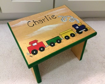 Train Step Stool Automotive step stool kids foot stoolPersonalized stool Hand & Train step stool | Etsy islam-shia.org