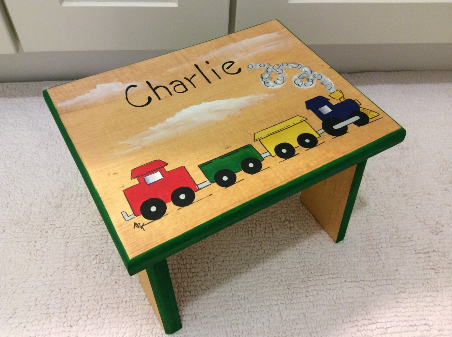 Train Step Stool Automotive Step Stool Kids Foot