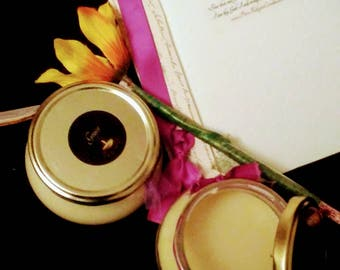 Flawless Vanilla Almond Oil, Aromatherapy Body Butter made with all natural ingredients {Grace}
