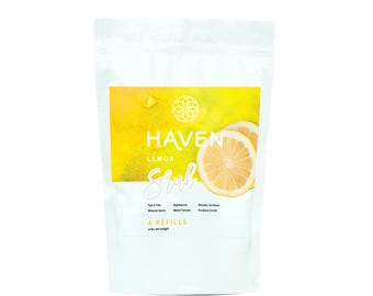 HAVEN Scrub Powder & Produce Wash - Lemon - 4X Refill