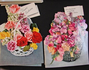 1960s All Occasion Greeting Cards Set, 21 Cards, Boxed Greeting Cards with Envelopes, Get Well, Happy Birtdhay Unused Cards