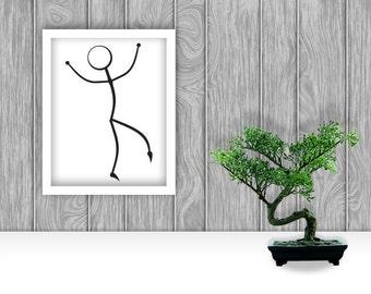 Dancer Digital Art Print - Bundle