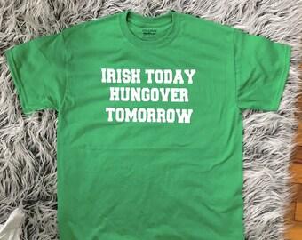 Irish Hangover t shirt