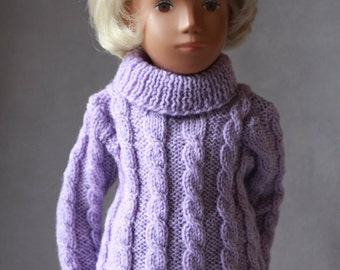 Lovely Handknitted Cable Sweaters/Jumpes for Vintage Sasha