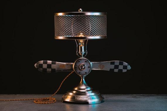 Aviation Propeller Lamp Table Light Airplane Propeller