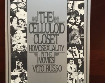 Autographed Book, The Celluloid Closet by Vito Russo.