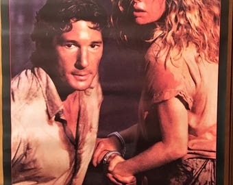 Movie poster, No Mercy, 1986 with Richard Gere