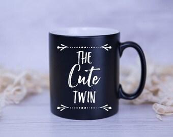 CUSTOM TWIN MUG The 'your text/characteristic' Twin