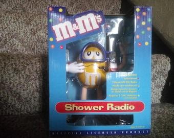 M&M Shower Radio - Vintage Shower Radio