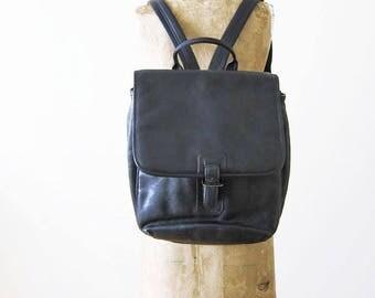 denim backpack / 90s backpack / grunge / soft grunge