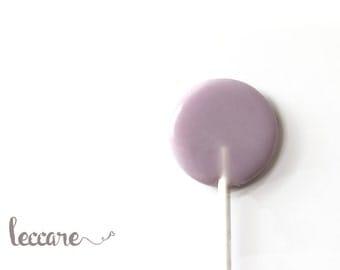 12  Gourmet Lollipops // Blackberry Cheesecake // Purple Wedding Favor // Fall Wedding // Winter Weddings