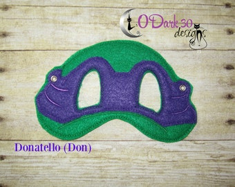 Donatello (Don) ** TMNT Inspired Childrens Dress Up Mask