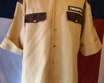 Trooper men's  costume shirt