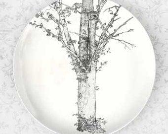 Tree from Oldilon Redon, melamine plate