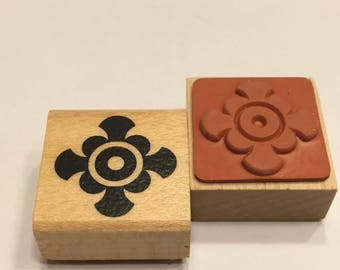 small design rubber stamp, 23 mm (F1)