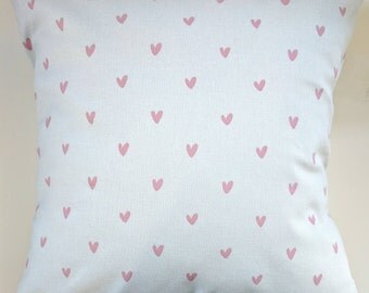 """Cushion Cover in Sophie Allport Hearts 14"""" 16"""" 18"""" 20"""""""